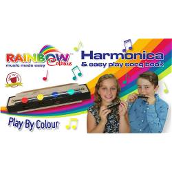 Rainbow colours Harmonica Rainbow colours harmonica (1)