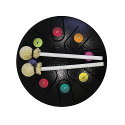 Rainbow colours Tongue drum Rainbow colours tongue drum (1)