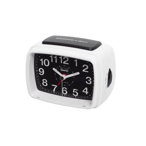 Balance 262176 Balance | Quartz Alarm Clock | Analogue | White/Black
