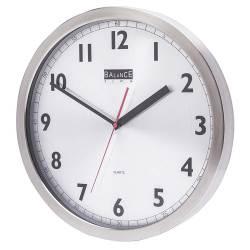 Balance 506740 Balance   Wall Clock   40 cm   Analogue   Aluminum