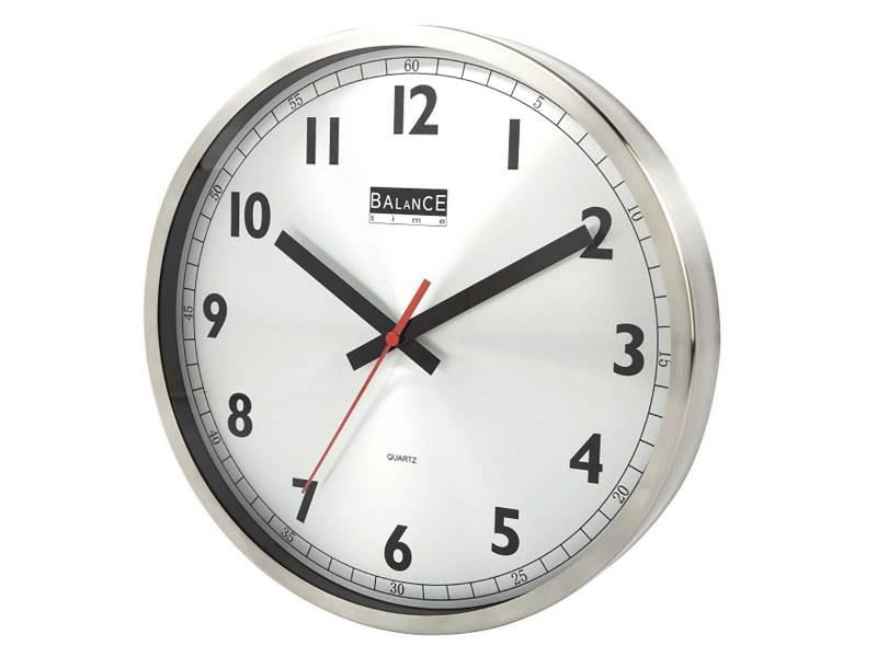Balance 506575 Balance | Wall Clock | 30 cm | Analogue | Aluminum