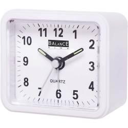 Balance 132941 Balance | Alarm Clock | Analogue | White