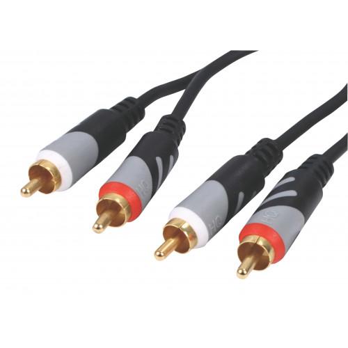 HQ HQCA-A032/10 Stereo audio kabel RCA 10M