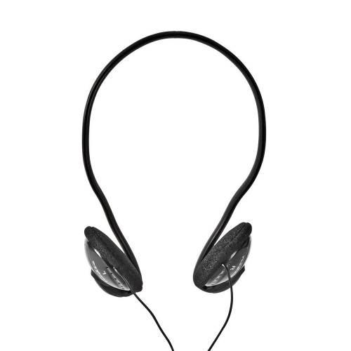 Nedis HPWD1105BK Bedrade Koptelefoon | Ronde Kabel 2,1 m | On-Ear | Zwart