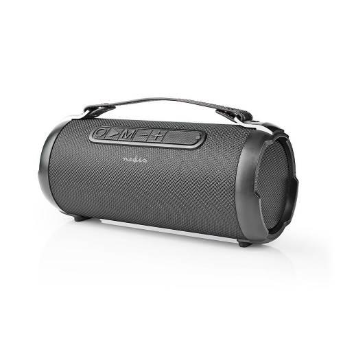 Nedis SPBB305BK Party-Boombox | 6 Uur Speeltijd | Bluetooth® | TWS | Draaglus | Zwart