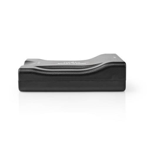 Nedis VCON3462BK SCART-naar-HDMIT-Converter   1-Wegs - SCART-Ingang   HDMIT-Uitgang