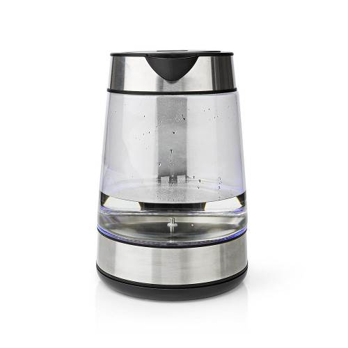 Nedis KAWK320EGS Waterkoker   1.7 L   360° Draaibaar   Glas